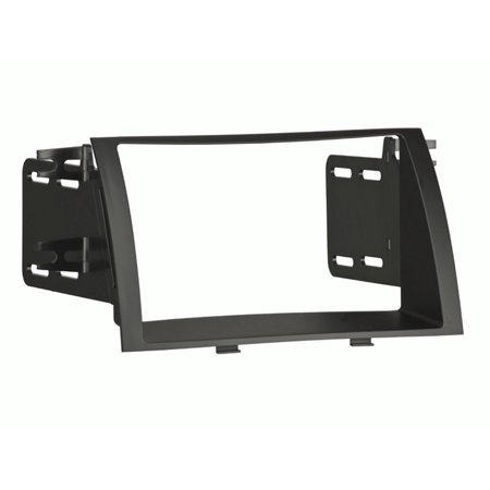 95-7340B Kia Sorrento 2011-up Double DIN, Painted matte black to match the factory color and finish By Metra - Factory Color Match