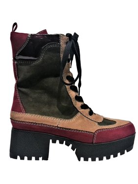 65a618fd1cd Product Image Powerful-06s Women Military Combat Lace Up Lug Sole Ankle  High Boots