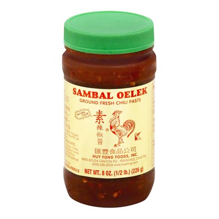 Sambal Oelek Ground Fresh Chili Paste