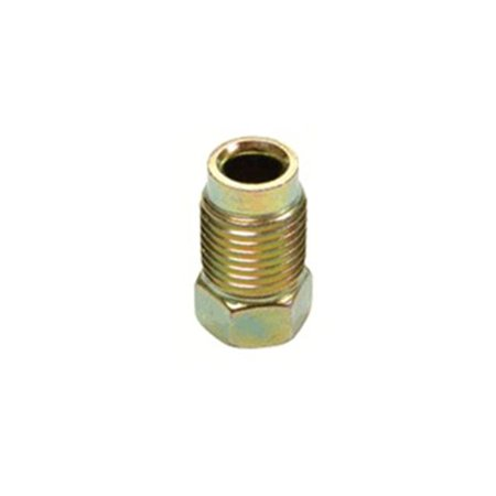 M10 x 1.0 Gold Inverted Flare (Inverted Nut)