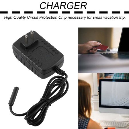 Power Charger Adapter For Microsoft Surface 10.6 RT Tablet Charger US Plug - image 2 of 6