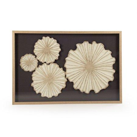 Zentique Zen30423b Abstract Paper Framed Art Walmart Com