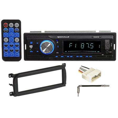 03 06 Jeep Wrangler Tj Car Digital Media Receiver Radio W Bluetooth Mp3 Usb Sd