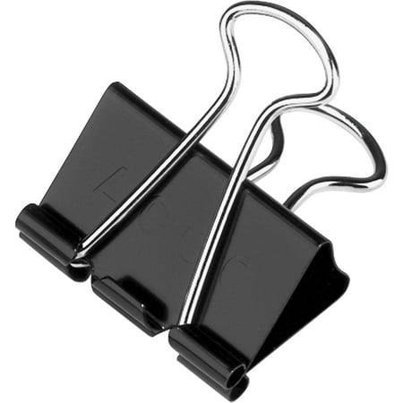 (4 Pack) ACCO® Binder Clips, Medium, 12 per box ()
