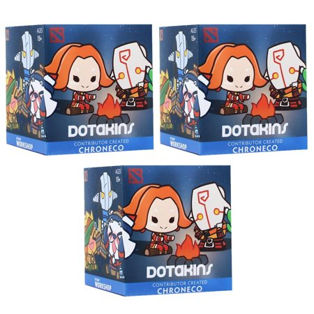 DOTA 2 Dotakins Blind Box Vinyl Series 2 - Lot of 3 - Dota 2 Halloween Items