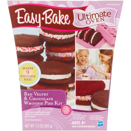 Easy-Bake Ultimate Oven Red Velvet and Chocolate Whoopie Pies Kit
