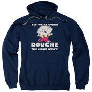 Family Guy Douche The Night Away Mens Pullover Hoodie