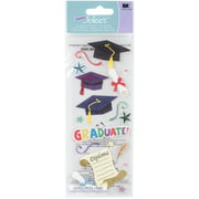 Jolee's Boutique Dimensional Graduation Stickers, 18 Piece