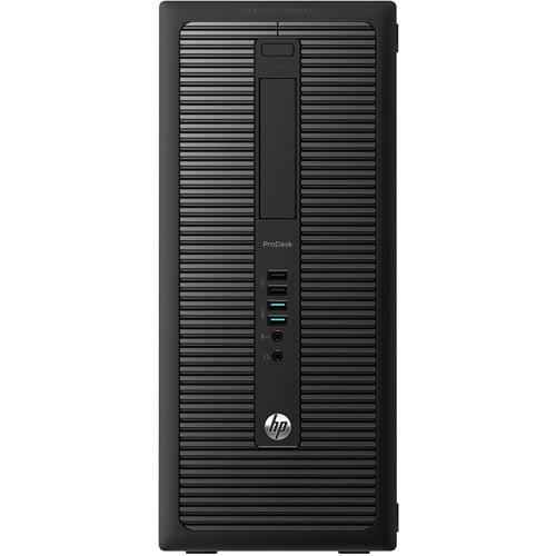 HP Black ProDesk G1 Desktop PC with Intel Core i3-4160 Dual-Core Processor,...