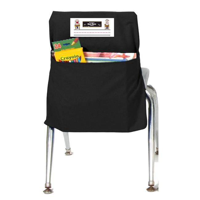 Seat Sack 30112 Small 12 inch Seat Sack Black - Pack of 2