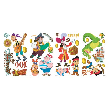 Jake and the Neverland Pirates Peel and Stick Wall Decals