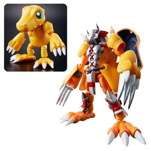Digimon 01 WarGreymon Agumon Digivolving Spirits Figure (Number of Pieces per case: 3) by
