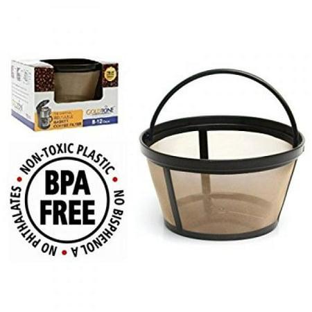 Goldtone Reusable 8 12 Cup Mr Coffee Reuseable Basket