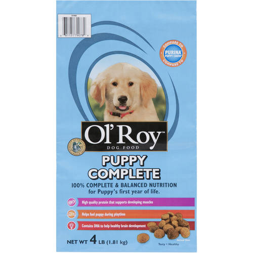 Ol' Roy: Dog Puppy Complete For All Breeds Food, 4 lb