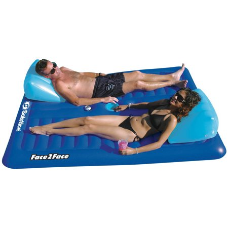 Solstice Vinyl Face To Face Pool Float, (Solstice Store Hours)