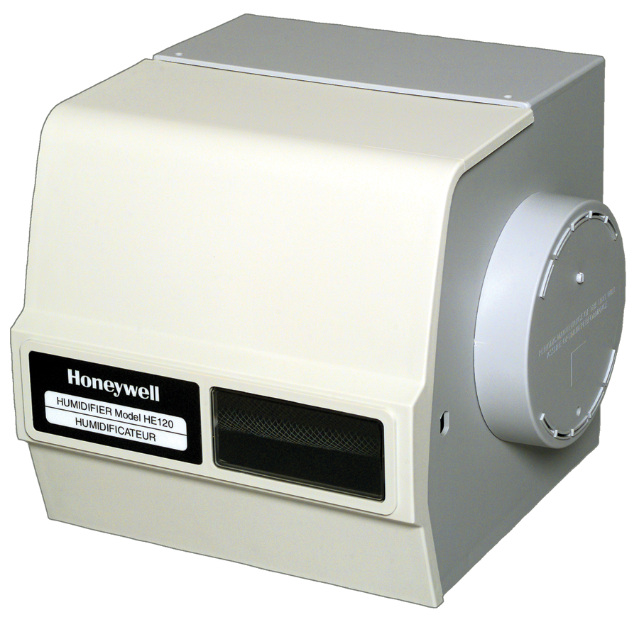 Honeywell Bypass Drum Humidifier, with Install Kit (HE120A1010/U)