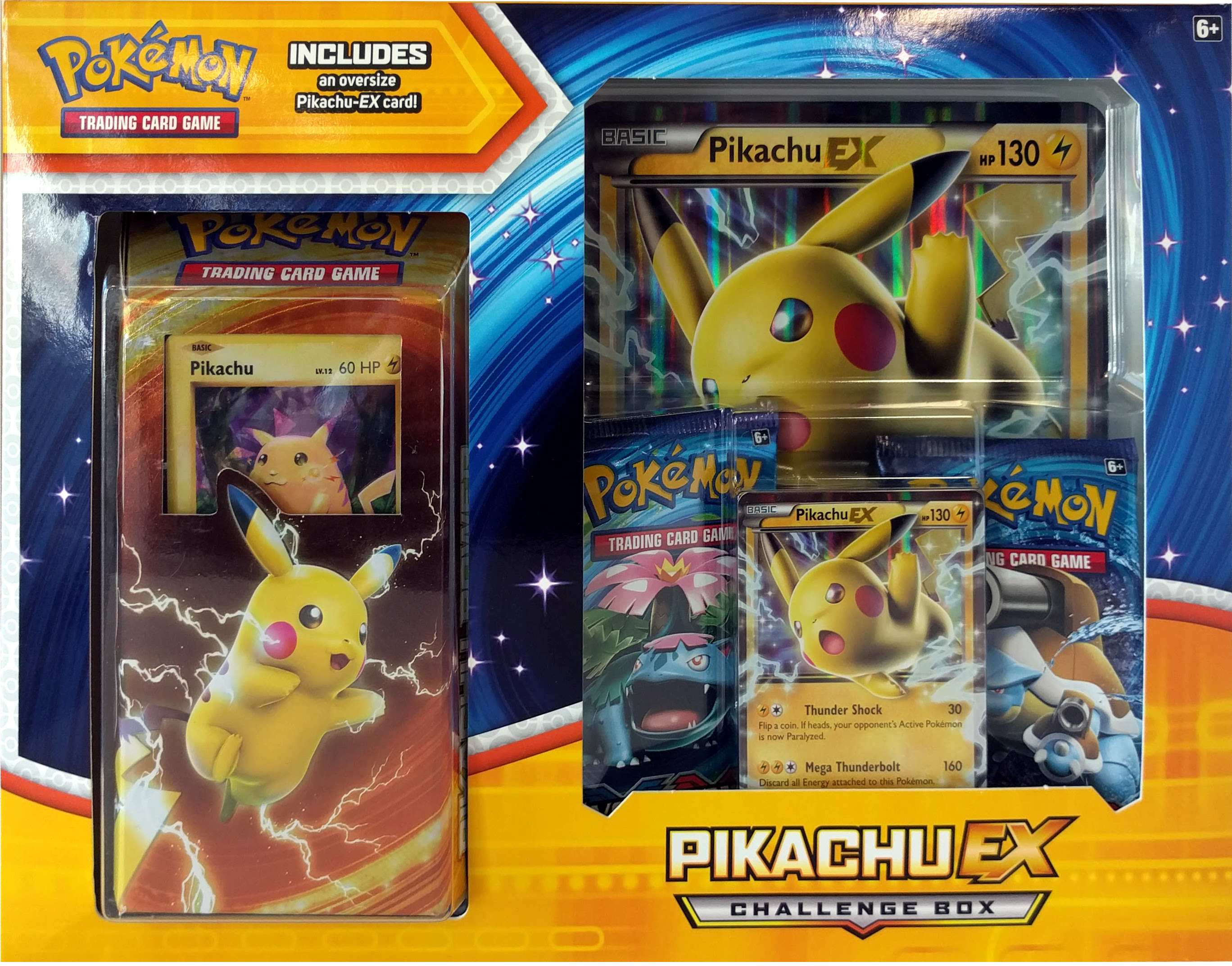 Pokemon X Y Pikachu Ex Challenge Box Walmart Com