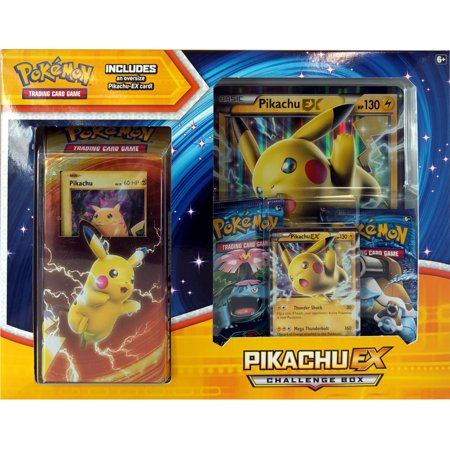 Pokemon X & Y Pikachu-EX Challenge Box (Pokemon X And Y Starter Pokemon Evolution)