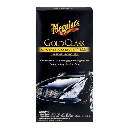 Meguiar's Gold Class Carnauba Plus Premium Liquid Wax, 16.0 FL (Best Liquid Carnauba Wax)