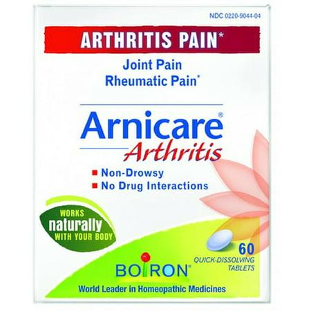 4 Pack - Boiron Arnicare Arthritis Tablets 60 Tablets