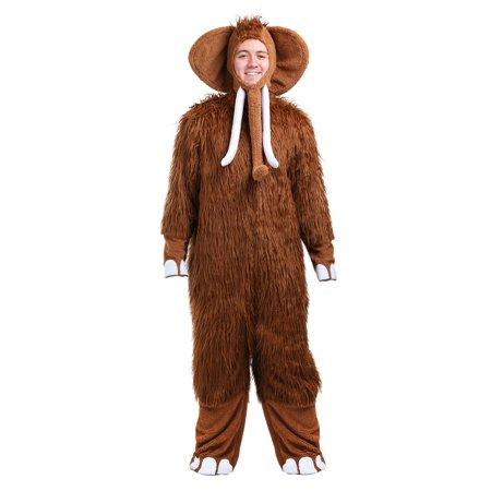 Woolly Mammoth Mens Costume - Woolly Mammoth Costume