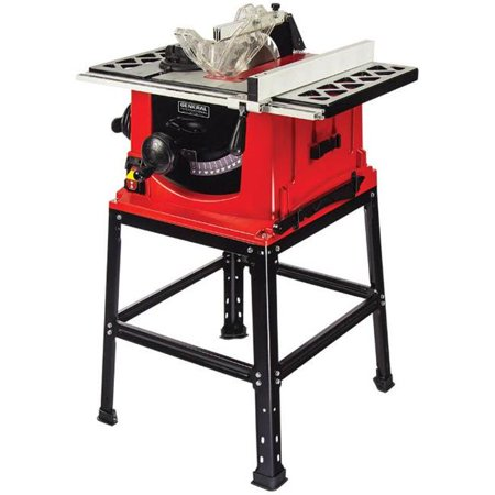 General International Ts4001 10 Inch 13a Motor Table Saw With Stand