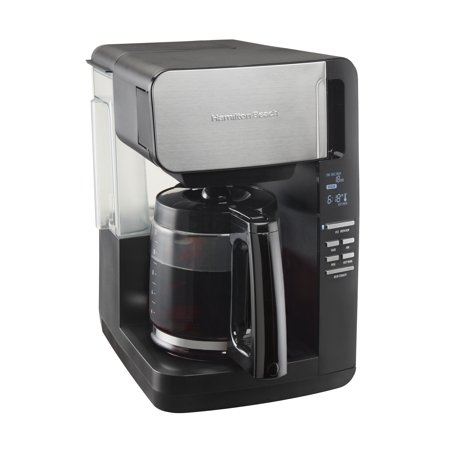 Hamilton Beach 12 Cup Front Fill Coffee Maker with Removable Reservoir | Model# (Best Way To Clean Your Coffee Maker)