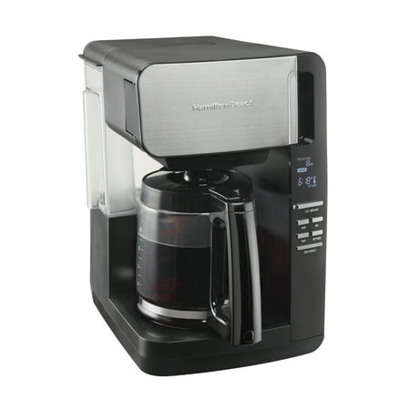 Hamilton Beach 12 Cup Front Fill Coffee Maker with Removable Reservoir