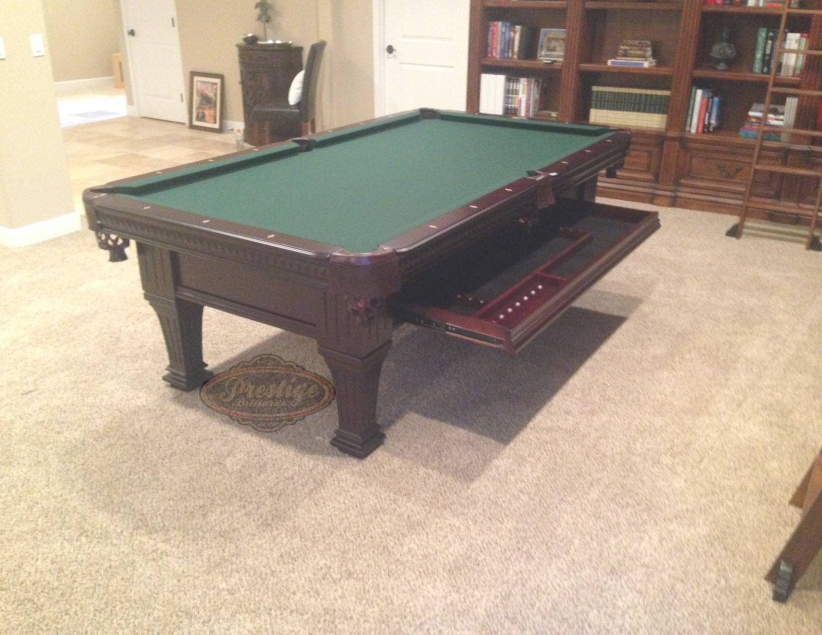 Ordinaire Ramsey Pool Table U2013 Ramsey Billiard Table By Imperial 8u0027   8ft   8 Foot U2013  Antique Walnut
