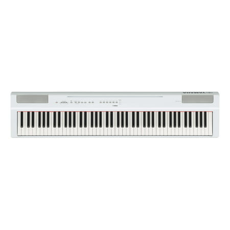 Yamaha P125 88 Weighted Key Digital Piano with CF Sound Engine and Damper Resonance DSP,