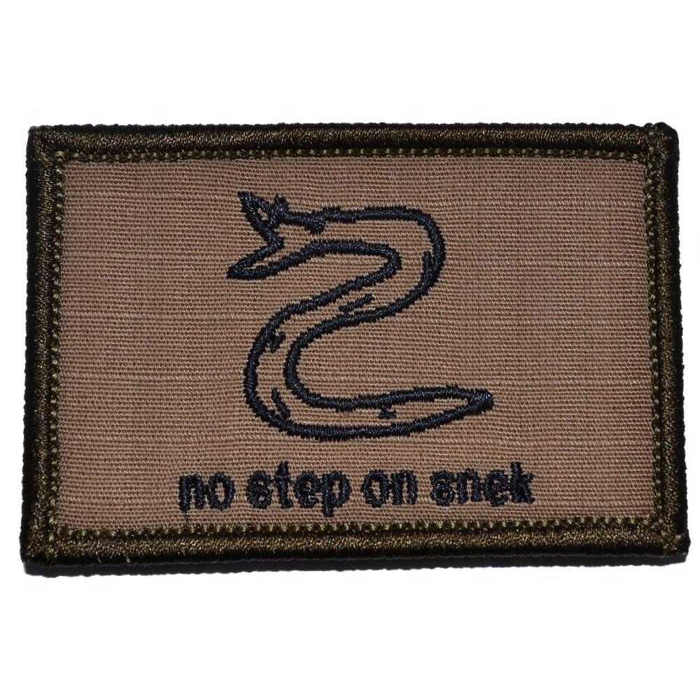 No Step On Snek - 2x3 Patch