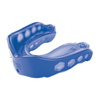 Shock Doctor Gel Max Mouthguard, Youth, Blue/Black