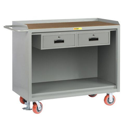 Little Giant USA Mobile 54''W Wood Top Workbench by Little Giant USA