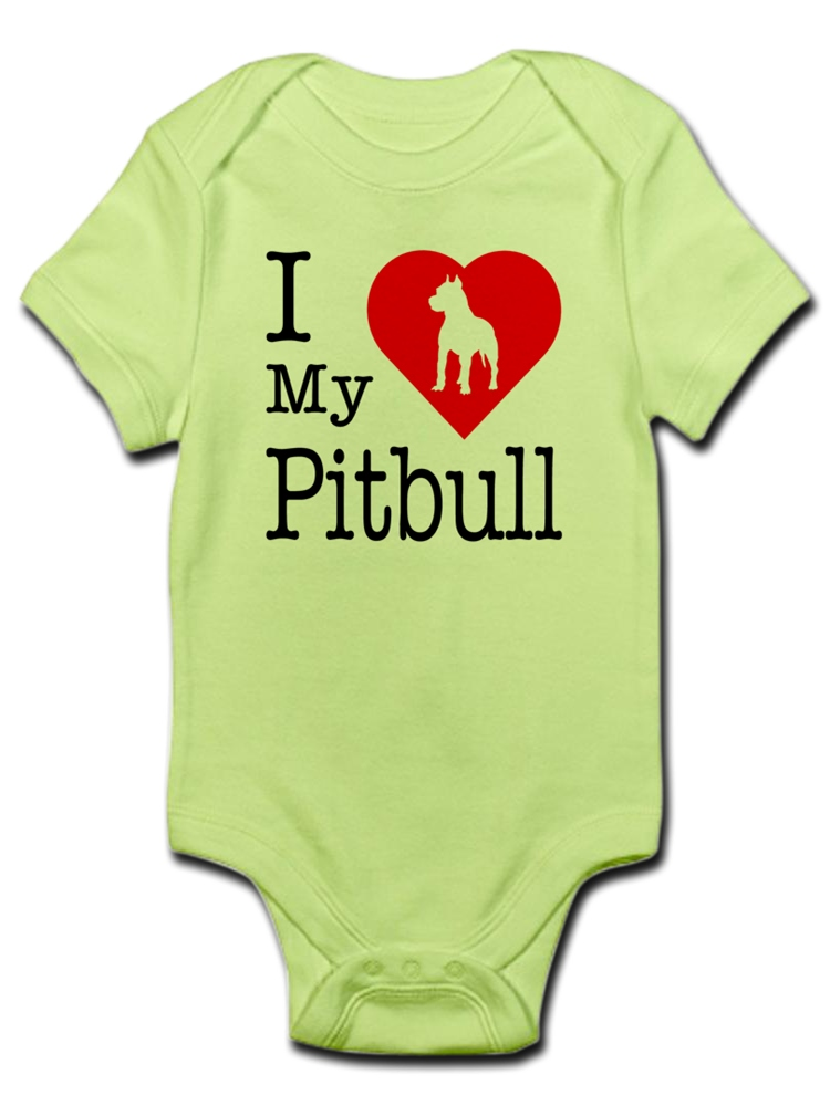 Bodysuits Clothes Onesies Jumpsuits Outfits Black HappyLifea Pitbull Mom Logo Baby Pajamas