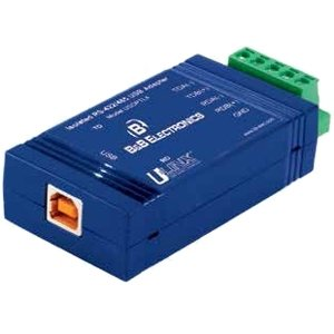 Quatech USOPTL4-LS Usb Inline Isolated Converter For Rs-422/485 Optical Isolation With Locked Seri