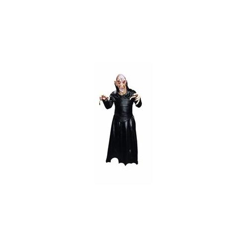 Costumes For All Occasions Ac271 Robe Leather Like Black