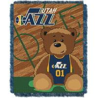 Utah Jazz The Northwest Company 36'' x 46'' Baby Jaquard Throw - No Size