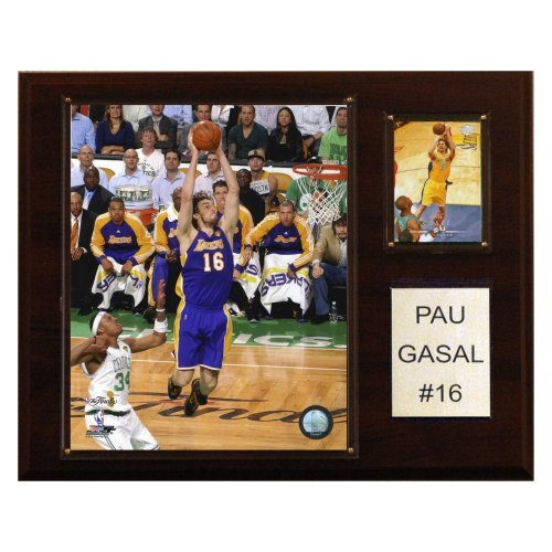 NBA 12 x 15 in. Pau Gasol Los Angeles Lakers Player Plaque