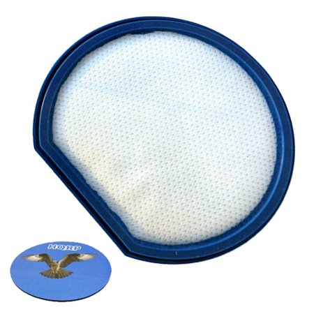 HQRP Pre-filter for Hoover Windtunnel T-Series UH70240 / UH70241 Rewind Plus Bagless Upright + HQRP Coaster