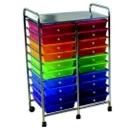 DEALS School Smart Mobile Organizer, Multiple Color, 20 Tier LIMITED