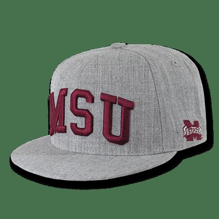 NCAA MSU Mississippi State U Bulldogs Game Day Snapback Caps Hats - Msu Bulldogs