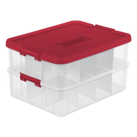 Christmas Ornament Storage Box With 40 Compartments