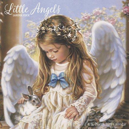 Angel Calendar Print (Mead Sandra Kuck Little Angels Wall Calendar - Wall)