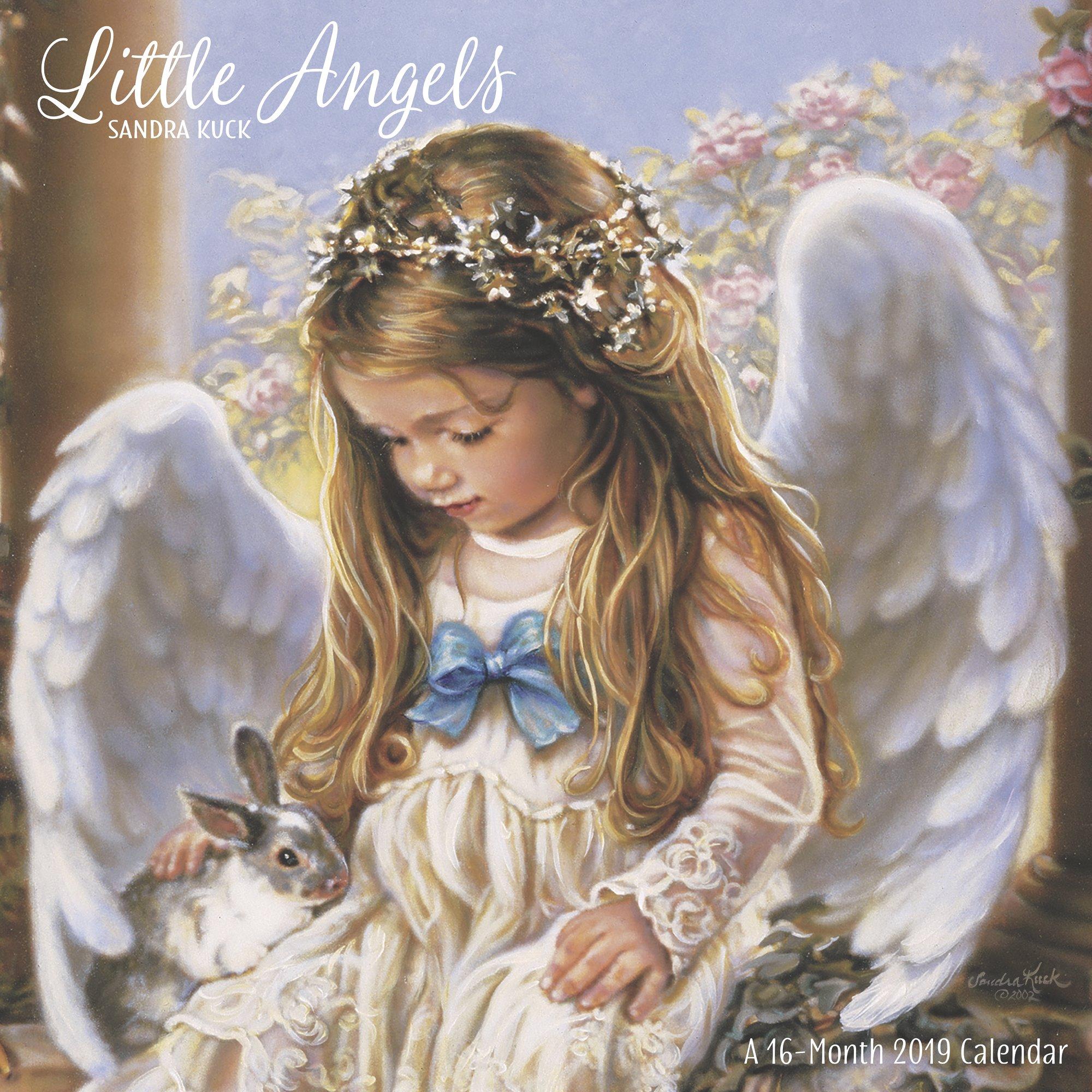Mead Sandra Kuck Little Angels Wall Calendar - Wall Calendars