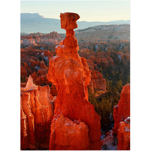 "Trademark Fine Art ""Bryce Canyon Thor's Hammer"" Canvas Art by Pierre Leclerc"