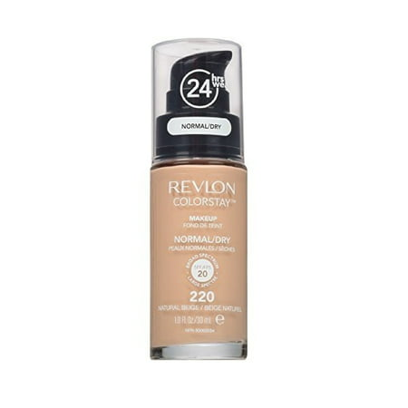 Revlon Colorstay for Normal To Dry Skin, #220 Natural (Best Foundation For Normal To Dry Skin)