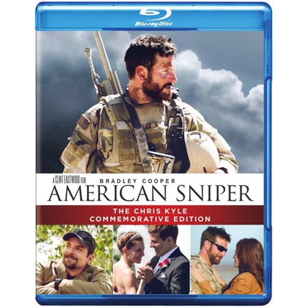 American Sniper  The Chris Kyle Commemorative Edition  Blu Ray