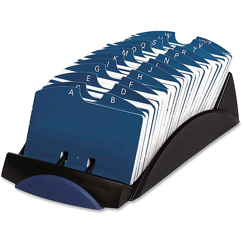 Rolodex Open VIP Business Card Tray