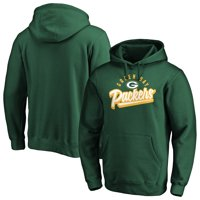 Men's Fanatics Branded Green Green Bay Packers Super Sweep Pullover Hoodie