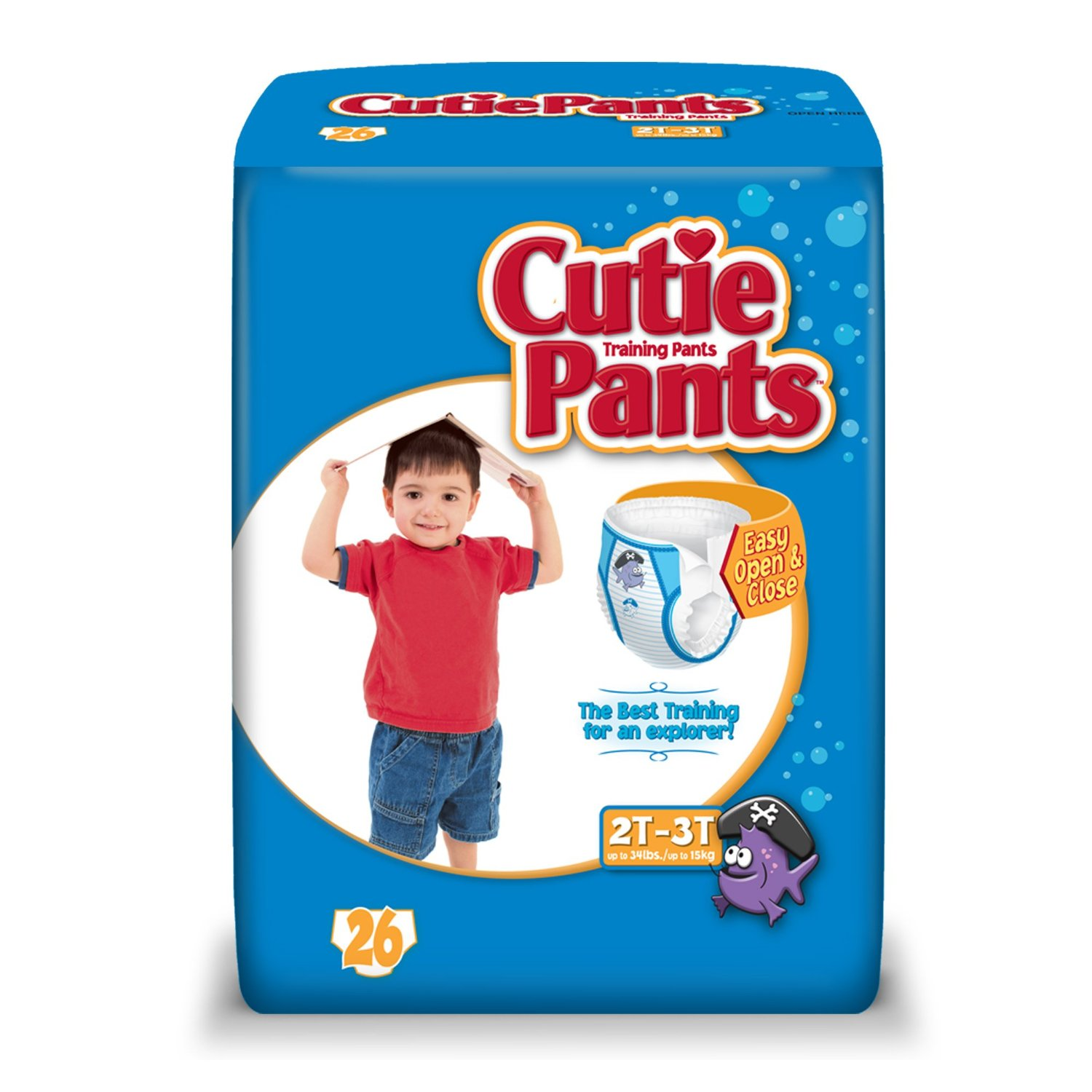Cuties Training Pants for Boys (Choose Size and Count)